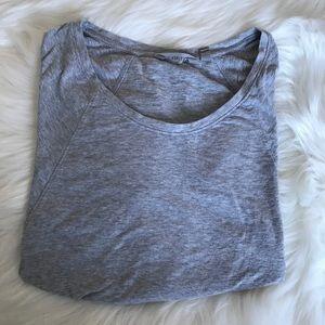 ATHLETA Gray Long sleeve Top